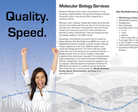 Biotech Company Product Brochure