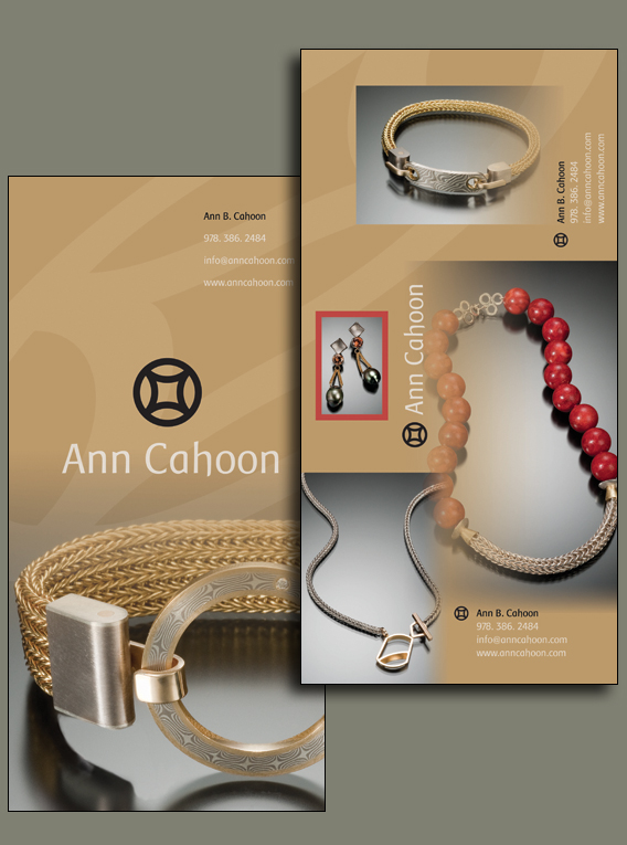 Jeweler Ann Cahoon Advertisement