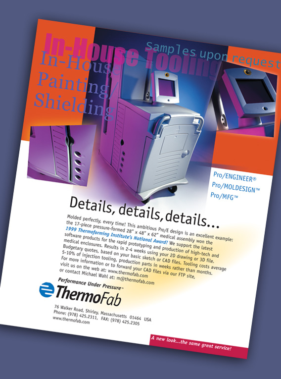 Thermofab Advertisement