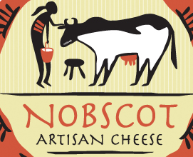 Nobscott Atisan Cheese Logo and label design