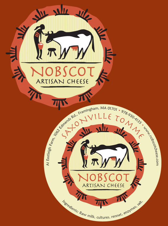 Nobscot logo and label